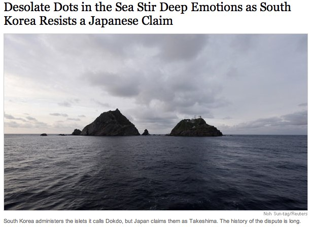 Desolate Dots in the Sea Stir Deep Emotions as South Korea Resists a Japanese Claim - NYTimes.com.jpg