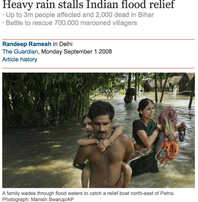 Heavy rain stalls Indian flood relief | World news | The Guardian-1.jpg