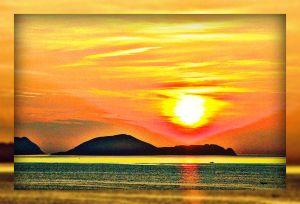 mirrored-sunset
