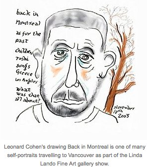 Leonard Cohen draws on a new talent | Straight.com.jpg